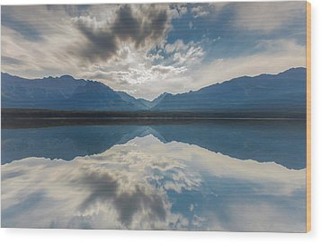 Heaven On Earth Wood Print by Laura Bentley