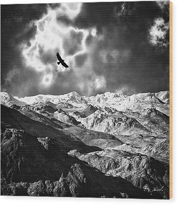 Heaven's Breath 15 Wood Print by The Art of Marsha Charlebois