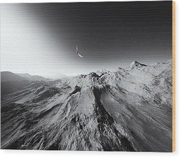 Heaven's Breath 7 Wood Print by The Art of Marsha Charlebois