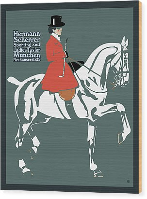 Hermann Scherrer Wood Print by Gary Grayson