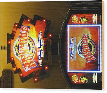 Hollywood Casino At Charles Town Races - 12124 Wood Print by DC Photographer
