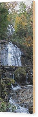 Horse Trough Falls Wood Print by Gregory Scott