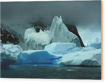 Wood Print featuring the photograph Iceberg by Amanda Stadther