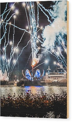 Illuminations Wood Print
