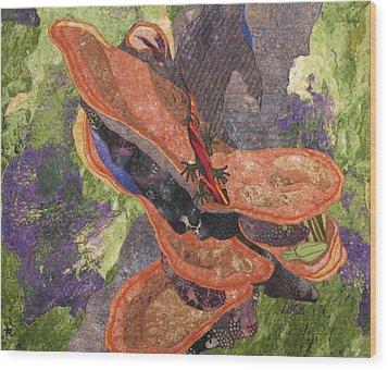 In The Rain Forest Wood Print by Lynda K Boardman