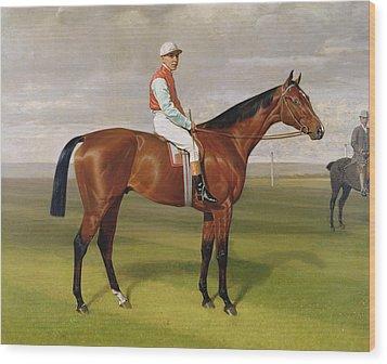 Isinglass Winner Of The 1893 Derby Wood Print by Emil Adam