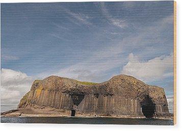 Isle Of Staffa Wood Print by Sergey Simanovsky