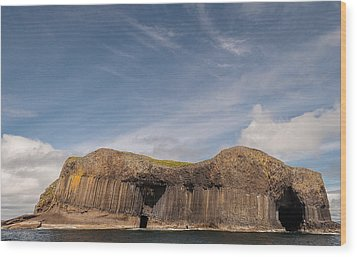Isle Of Staffa Wood Print