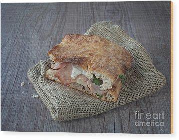 Italian Sandwich Wood Print by Sabino Parente