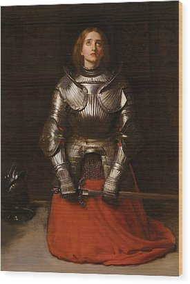 Joan Of Arc  Wood Print