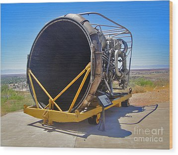 John P. Stapp Air And Space Park  Wood Print by Gregory Dyer