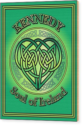 Kennedy Soul Of Ireland Wood Print
