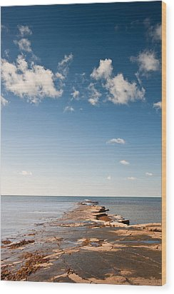 Kimmeridge Bay Seascape  Wood Print by Matthew Gibson
