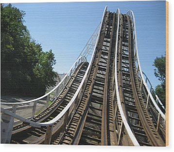 Kings Island - 121230 Wood Print by DC Photographer