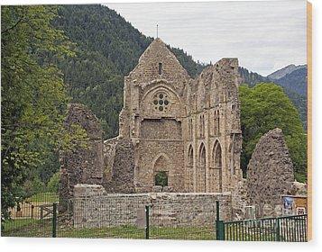 L'abbaye De Saint-jean-d'aulps Wood Print by Rod Jones