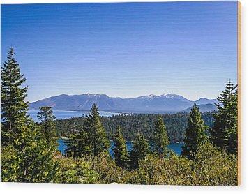 Lake Tahoe Wood Print