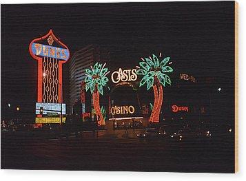 Las Vegas 1983 Wood Print