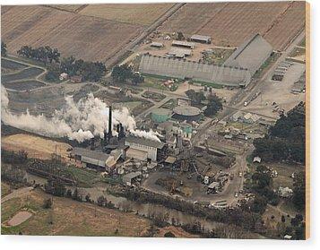 Lasuca Sugar Mill Wood Print