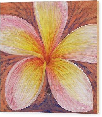 Leelawadee Wood Print by Atiketta Sangasaeng