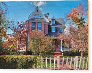 Leesburg House I Wood Print by Steven Ainsworth