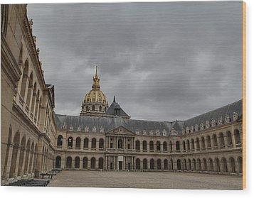 Les Invalides - Paris France - 011318 Wood Print by DC Photographer