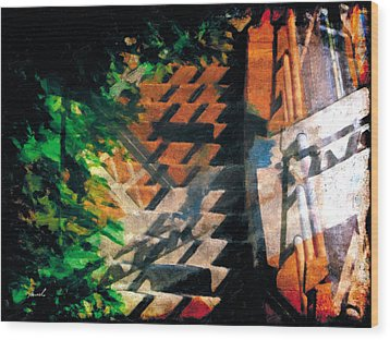 Wood Print featuring the photograph Less Travelled 19 by The Art of Marsha Charlebois