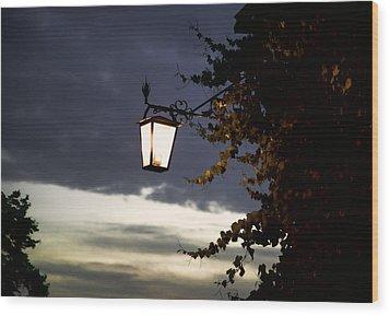 Light Wood Print by Joanna Madloch