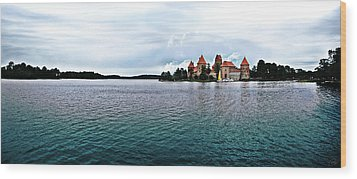 Lithuanian Castle Wood Print