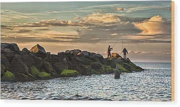 Long Island Life  Wood Print