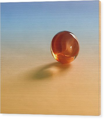 1 Lost Marble Wood Print by Tom Druin