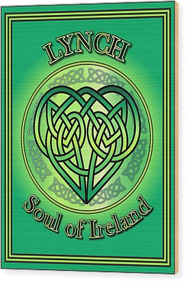 Lynch Soul Of Ireland Wood Print by Ireland Calling