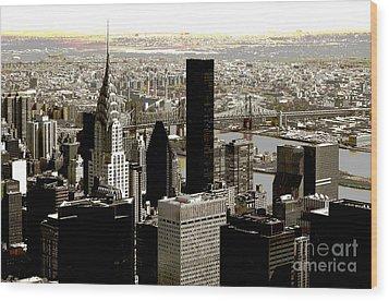 Manhattan Wood Print by RicardMN Photography