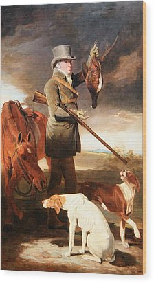 Marshall's J G Shaddick -- The Celebrated Sportsman Wood Print