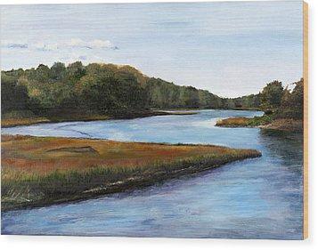 Marshside Wood Print