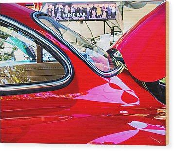 Mercedes Benz 300 Sl Wood Print by SM Shahrokni