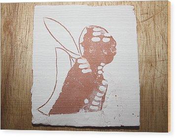 Micah - Tile Wood Print by Gloria Ssali