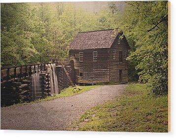 Mingus Mill Wood Print by Marty Koch