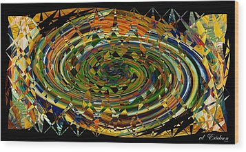 Wood Print featuring the digital art Modern Art I by rd Erickson