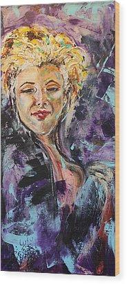 Monroe Wood Print by Lucy Matta - LuLu