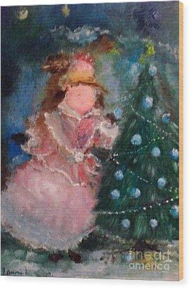 Mother Christmas Wood Print