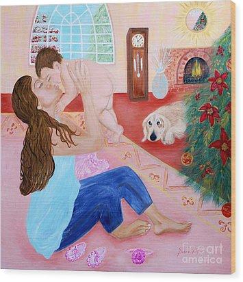 Motherhood. Inspirations Collection. Wood Print