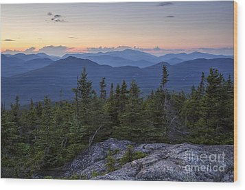 Mount Chocorua Scenic Area - Albany New Hampshire Usa Wood Print