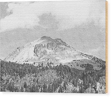 Mount Lassen Wood Print by Frank Wilson