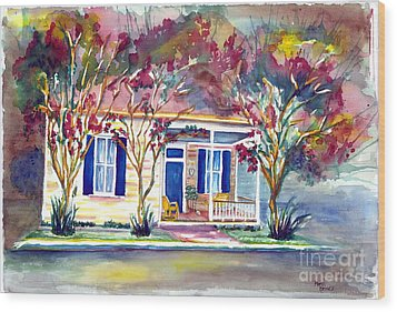 Natchez Heritage Wood Print