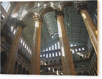 National Building Museum Wood Print by Cora Wandel