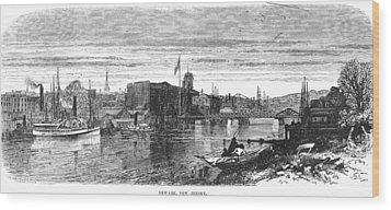New Jersey Newark, 1876 Wood Print by Granger