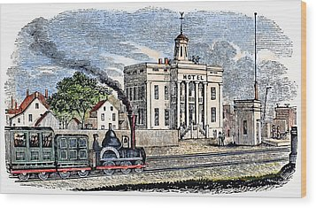 New Jersey Rahway, 1844 Wood Print by Granger
