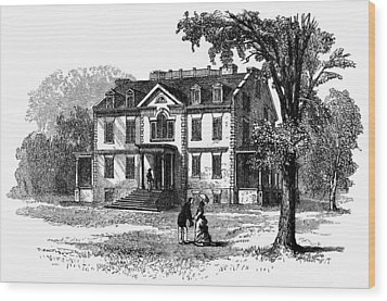 Newark Schuyler Mansion Wood Print by Granger