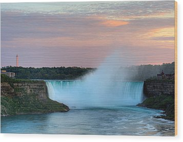 Wood Print featuring the photograph Niagara Falls by Marek Poplawski