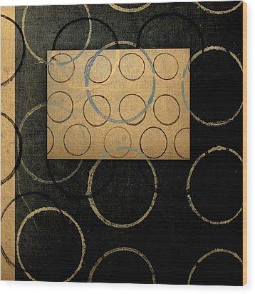 No Coasters Wood Print by Carol Leigh